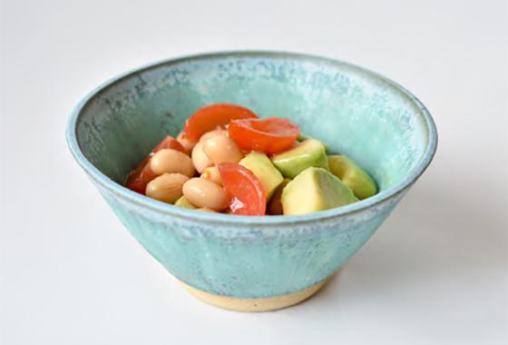 アボカドと大豆のマリネ
